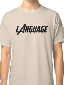 Captain America - Language Classic T-Shirt
