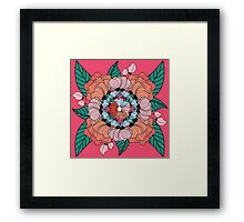 Ornate Floral  Framed Print
