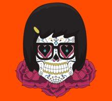Sugar Skull Tina Kids Tee