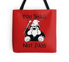 Pokemon Snorlax Quote Tote Bag