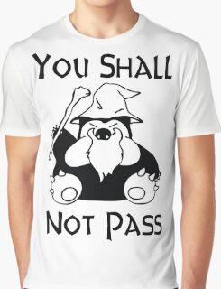 Pokemon Snorlax Quote Graphic T-Shirt