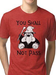 Pokemon Snorlax Quote Tri-blend T-Shirt