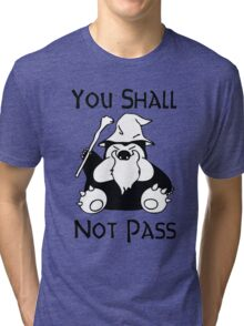 Pokemon Snorlax Quote Tri-blend T-Shirt