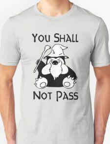 Pokemon Snorlax Quote Unisex T-Shirt