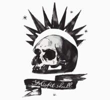 Skull by mishtar