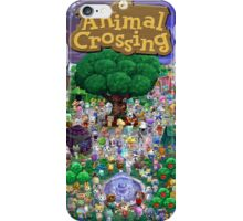 Animal Crossing Poster iPhone Case/Skin