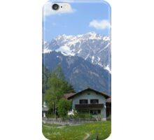 Summer in the mountains  iPhone Case/Skin