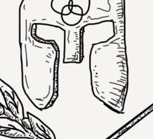 Olives over Arrows Sticker