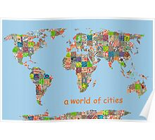 A world of cities Poster