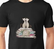 Vintage Cats in Love  Unisex T-Shirt