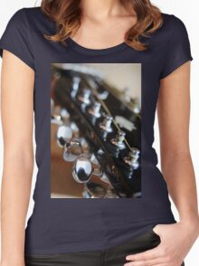 This old Guitar Women's Fitted Scoop T-Shirt