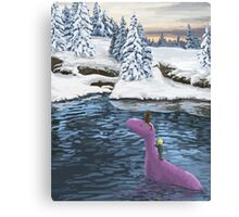Winters Journey - Earthbound Canvas Print