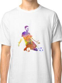 man soccer football player 13 Classic T-Shirt