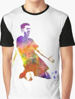 man soccer football player 13 Graphic T-Shirt