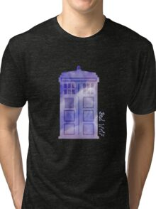 The watercolor time machine  Tri-blend T-Shirt