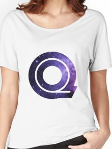 The Letter Q - Space Women's Relaxed Fit T-Shirt