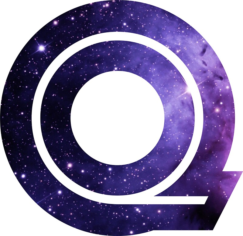 Quot The Letter Q Space Quot Stickers By Mike Gallard Redbubble