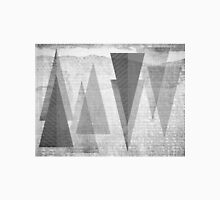 GEOMETRIC TEXTURE BNW & TRIANGLES T-Shirt
