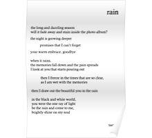 Kim Taeyeon - Rain Lyrics Poster