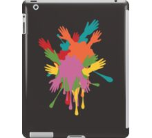 Cartoon Hands with Gestures 3 iPad Case/Skin