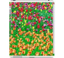 Tulips of field singing iPad Case/Skin