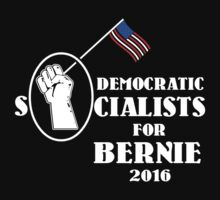 Democratic Socialists for Bernie Sanders by Samuel Sheats