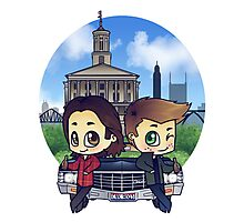 Winchesters in Nashville Photographic Print
