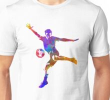 man soccer football player 14 Unisex T-Shirt