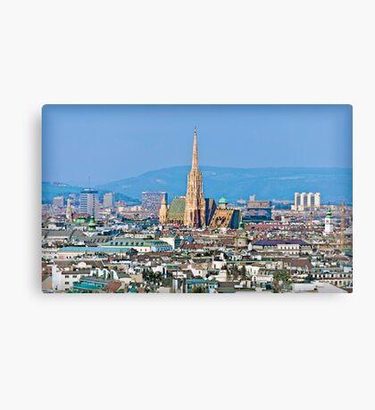 Austria - City of Vienna Canvas Print