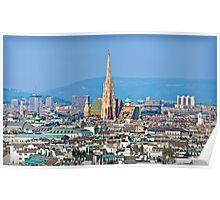 Austria - City of Vienna Poster