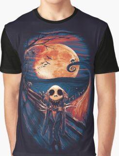 The Scream After Christmas Graphic T-Shirt