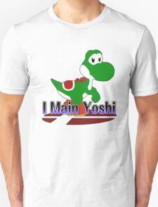 I Main Yoshi - Super Smash Bros Melee Unisex T-Shirt
