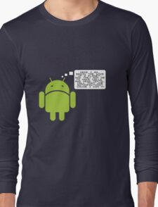 Android Paranoia Long Sleeve T-Shirt