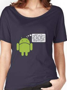Android Paranoia Women's Relaxed Fit T-Shirt