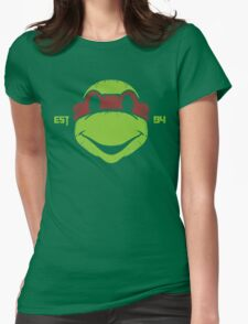 Legendary Turtles - Raph Womens Fitted T-Shirt