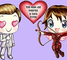 The Cute Version Of The Hunger Games (Love on Valentine's Day) by TheBeanStudio