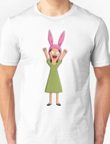 Louise Belcher Light Pattern Orange T-Shirt