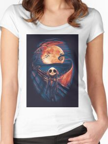The Scream After Christmas Women's Fitted Scoop T-Shirt