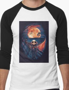 The Scream After Christmas Men's Baseball ¾ T-Shirt