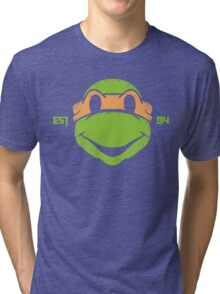 Legendary Turtles - Mikey Tri-blend T-Shirt