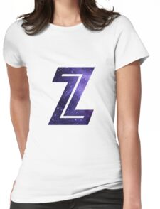 The Letter Z - Space Womens Fitted T-Shirt