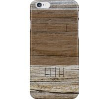 Woodgrain iPhone Case/Skin