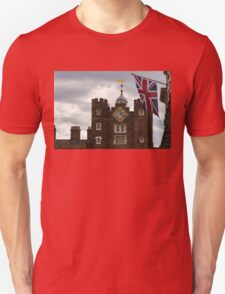 British Symbols and Landmarks - Union Jack and the Pearly Clock T-Shirt