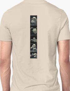 Dolphins bubbles Unisex T-Shirt