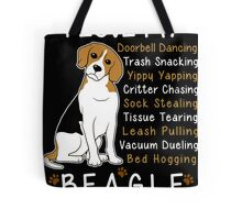 i love beagle  Tote Bag