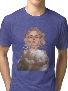 ROSEBUD Tri-blend T-Shirt