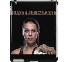 Joanna Jędrzejczyk UFC CHAMPION iPad Case/Skin