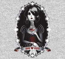 Gothic Snow White Kids Tee