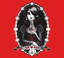 Gothic Snow White One Piece - Long Sleeve