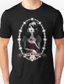 Gothic Snow White Unisex T-Shirt